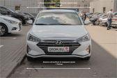 Hyundai Elantra 201808 - Внешние размеры