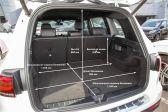 Mercedes-Benz GLB-Class 2019 - Размеры багажника