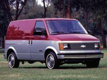 Chevrolet Astro 1984, цельнометаллический фургон, 1 поколение, M10