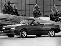 Chevrolet Cavalier 1982, открытый кузов, 1 поколение