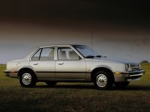 Chevrolet Cavalier 1981, седан, 1 поколение