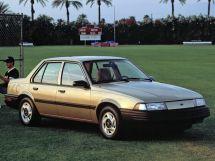 Chevrolet Cavalier 1987, седан, 2 поколение