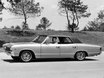 Chevrolet Malibu 1965, седан, 1 поколение