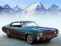 Chevrolet Malibu рестайлинг 1970, купе, 2 поколение
