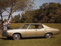 Chevrolet Malibu 1967, седан, 2 поколение