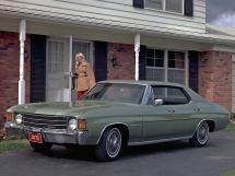 Chevrolet Malibu рестайлинг 1970, седан, 2 поколение