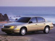 Chevrolet Malibu рестайлинг 1999, седан, 5 поколение