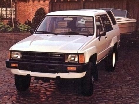 Toyota 4Runner (N60) 08.1983 - 07.1985