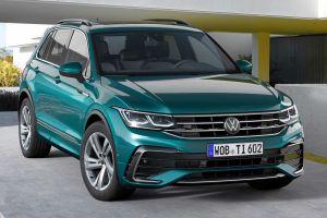 Обновленный Volkswagen Tiguan обзавелся свежей внешностью и мощной топ-версией