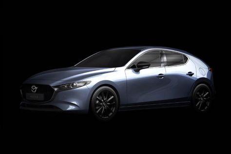 Турбированная Mazda 3 не сравнится по мощности с Hyundai i30 N и Volkswagen Golf GTI