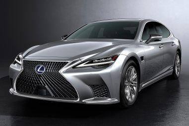 Lexus обновил флагманский седан LS: свежая внешность, новая подвеска и функции