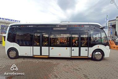 В Беларуси создали электробус с суперкороткими свесами