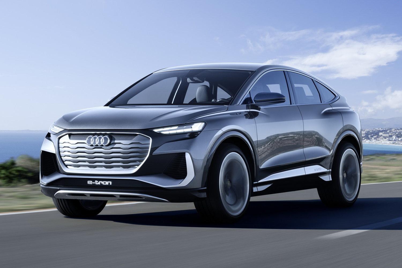 Audi Q4 Sportback e-tron обещает стать доступным кросс-купе на электричестве