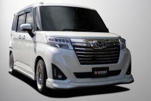 Компактвэн Toyota Roomy получил тюнинг-пак от D-SPORT