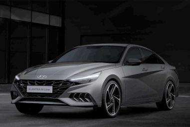 Hyundai показала «оспортивленный» седан Elantra N Line