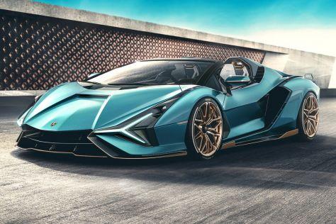 Lamborghini представила эксклюзивный родстер, который раскупили до премьеры