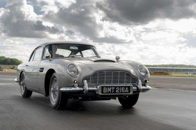Aston Martin начал выпускать копию DB5 Джеймса Бонда