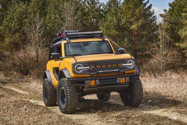 Новый Ford Bronco получил крутую внешность и продвинутую внедорожную технику