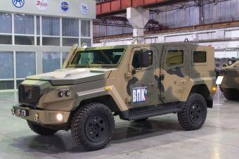 Производитель «Тигров» разработал новую бронемашину для армии