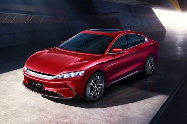 В Китае запущены продажи электрического седана BYD Han с 5G