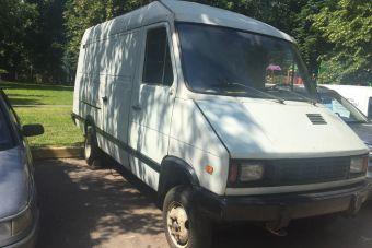 В Москве нашли уникальный фургон УАЗ-НАМИ, который считался утерянным