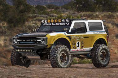 Saleen первым показал, как можно «прокачать» новый Ford Bronco