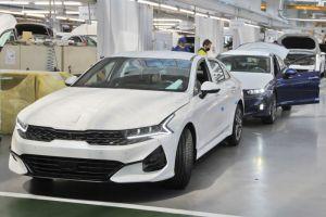 В России начали выпускать новую Kia K5/Optima