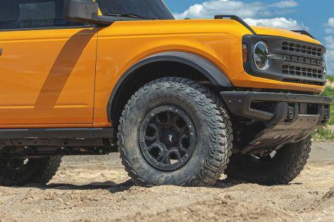 С шин для Ford Bronco уберут название главного конкурента