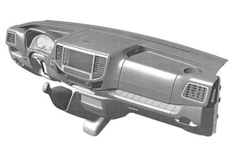 ГАЗ запатентовал переднюю панель для новой ГАЗели
