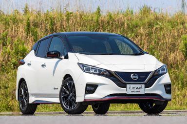 Обновленный Nissan Leaf Nismo получил улучшенную подвеску и перенастроенный руль