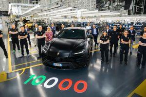 Юбилейный экземпляр Lamborghini Urus отправят в Россию