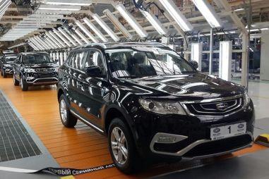 В Беларуси организуют выпуск моторов Geely