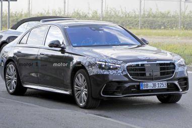 Будущий Mercedes-Benz S-класса раскрыт почти полностью