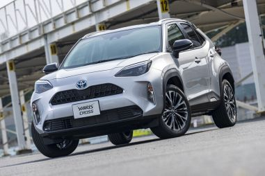 Появились «живые» фото Toyota Yaris Cross
