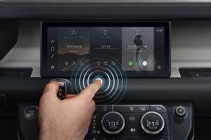 В Jaguar Land Rover придумали бесконтактный сенсорный экран
