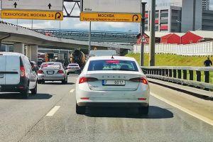 ФОТО: новая Skoda Octavia уже ездит по России