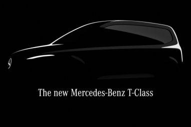В гамме Мерседеса появится минивэн T-Class