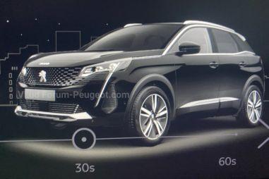 Peugeot собирается обновить 3008: первые фото