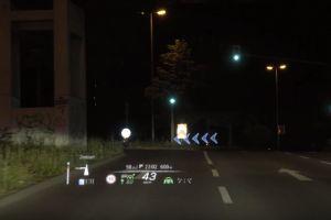 Mercedes Benz S-Class получит продвинутый проекционный дисплей с дополненной реальностью: ВИДЕО