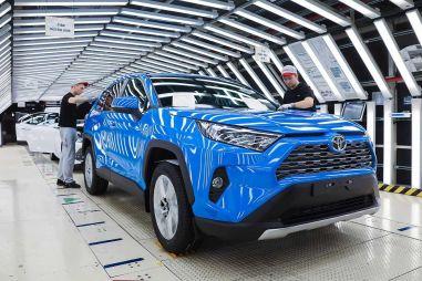 Тойота объявила итоги июня: восстановление идет быстрее, чем предполагалось