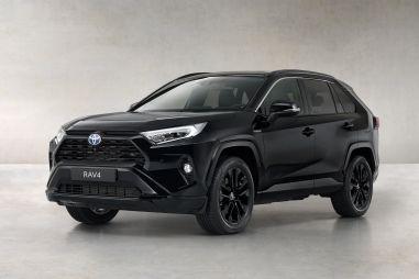 Toyota представила совсем черный RAV4