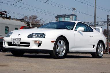 Народное ретро. Toyota Supra JZA80 1998 года. Сытая акула