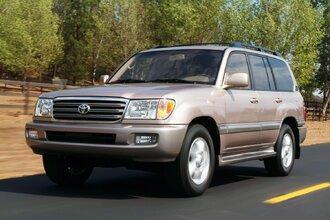 Toyota Land Cruiser 100 (рестайлинг 2002–2005 годов)