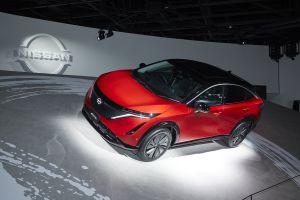 Футурокросс. Электрический Nissan Ariya. Будет и в России