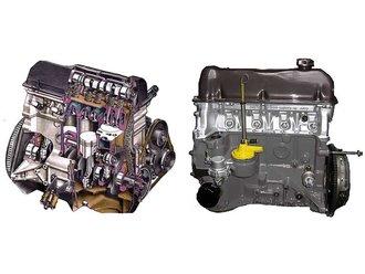 Двигатель ВАЗ-21011