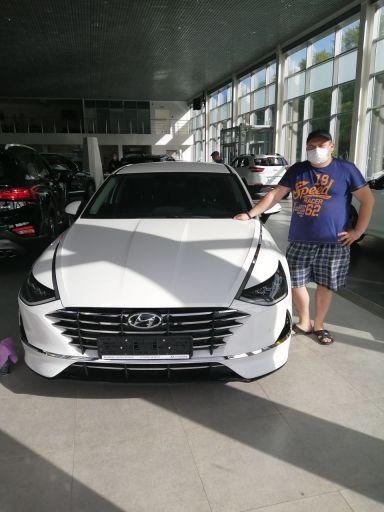 Hyundai Sonata 2019 отзыв автора | Дата публикации 03.07.2020.