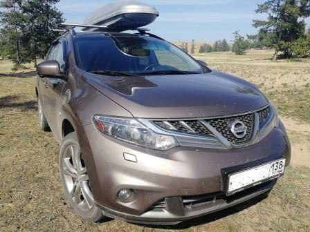 Nissan Murano 2014 - отзыв владельца