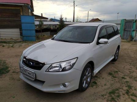 Subaru Exiga 2012 - отзыв владельца