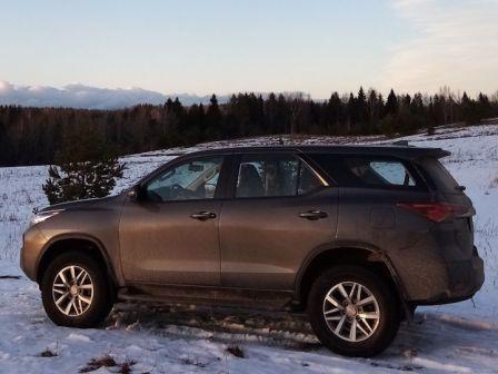 Toyota Fortuner 2019 - отзыв владельца