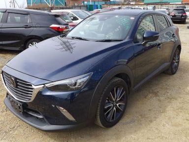 Mazda CX-3 2017 отзыв автора | Дата публикации 14.07.2020.
